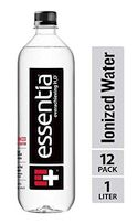 Essentia Ionized Alkaline Water; Electrolytes for Taste, Better Rehydration, pH 9.5 or Higher, 33.8 Fl Oz, Pack of 12
