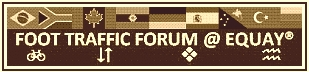 FOOT TRAFFIC FORUM @ EQUAY�