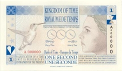 One Second - Time Currency - Kingdom of Time