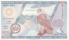 One Day - Time Currency - Kingdom of Time